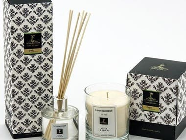 Candle Packaging, UK