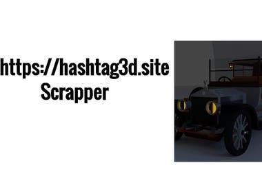 hashtag3d.site Scrapper