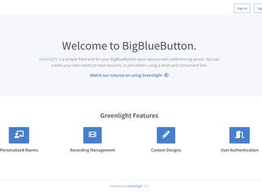 BigBlueButton with Greenlight Setup