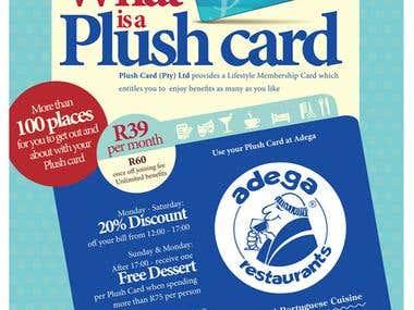 Plush Card