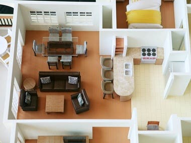 Architecture & Construction Design using 3D printing