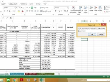 Data Entry (Word, excel)