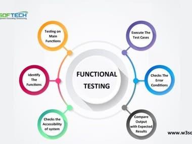 Functionality testing