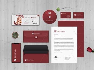 Visual identity brand