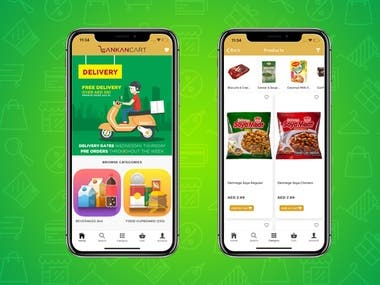 Grocery iOS and Android App