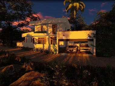 Residential House Project -Sri Lanka