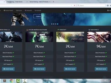 Vue.JS On-line Gaming WebApp