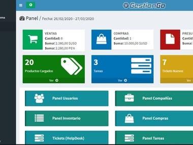 GestionGo - Ventas - Compras - Inventario
