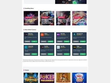 Casino Website Design and Building