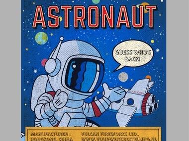 Poster design Astronaut