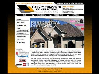 WEBSITE -- Harvey Strassner Contracting