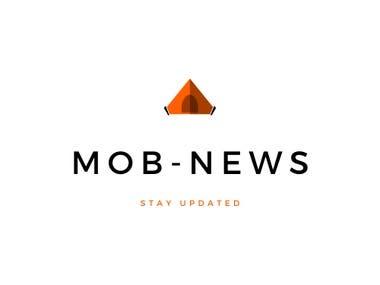 Logo for Mob news website