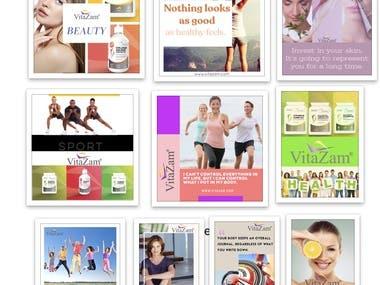 VITAZAM - Content Marketing Plan