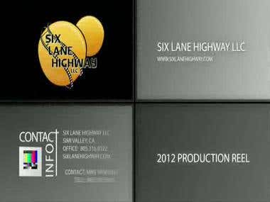 Six Lane Highway's 2012 Reel