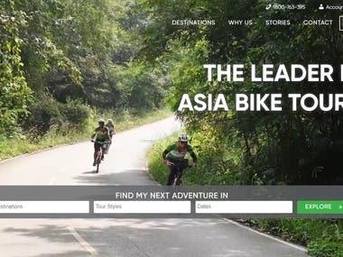 Tourist Site with WordPress
