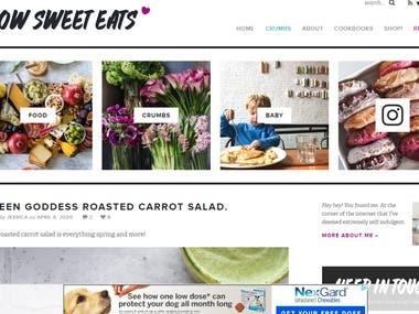 Food Site with Vue.JS