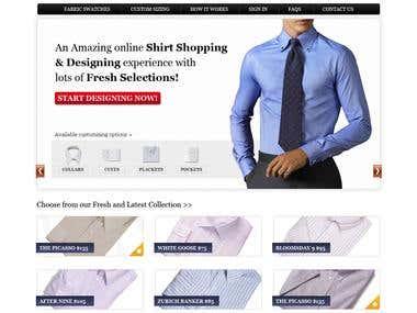 ONline shirt store