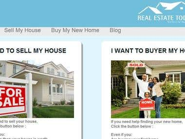 Wordpress site Real Estate (theme and plugin)