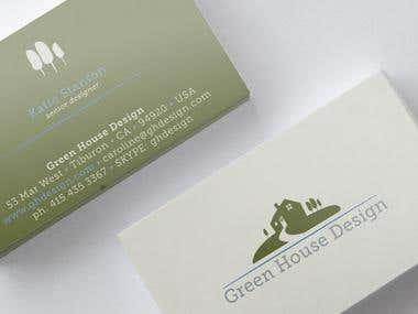 Logo and Bbusiness card design