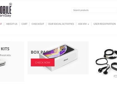 KhareedoMobile Website