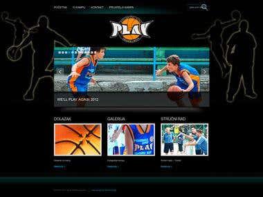 Basket ball club site