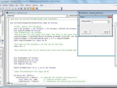 Latin Squares Solver with Visual Basic Excel