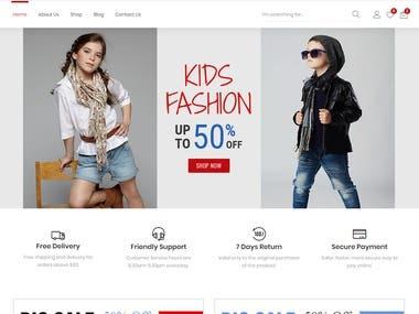 Kids Fashion Store