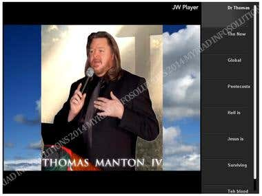 Church Website VOD solutions