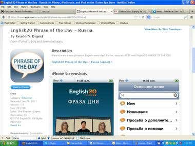 English20 Phrase of the Day - Russia
