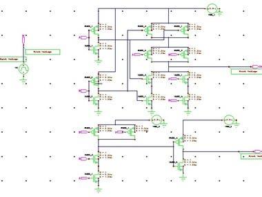 VLSI Half Adder Circuit
