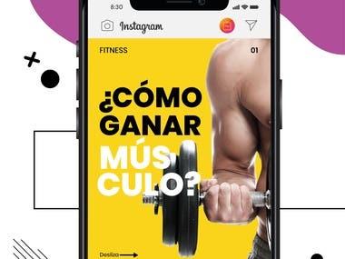 Carrousel para Instagram