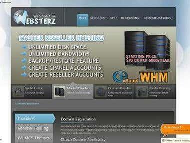 Websterz Web Solution