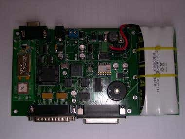 Acquisition board with Bluetooth