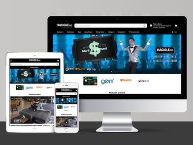 Shopify, UI/UX Design, Theme Development