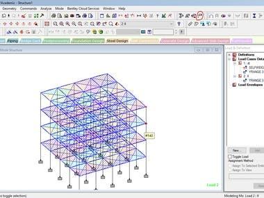 Structure Design Work !!