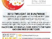 FLYER -- Twilight 5k Poster