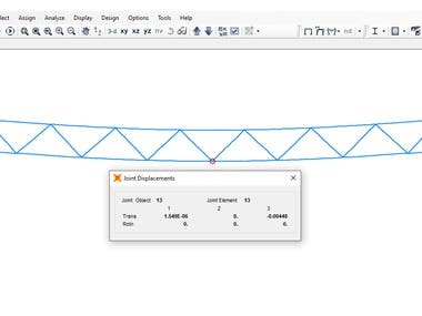 Steel truss design with Euro 3-2005 Code using Sap2000.