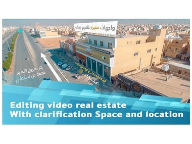 editing video real estate With clarification Space and loca