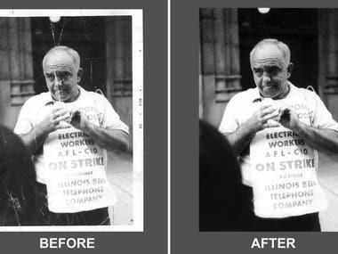 Photo Restoration/Retouch
