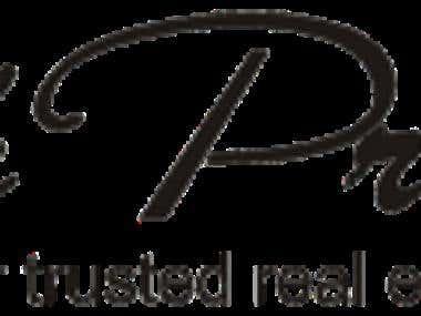 A sample logo design for real estate comapany