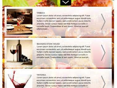 LG Cooks Facebook App