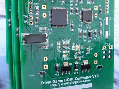 TriviGame USB Host controller