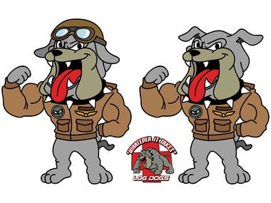 Caricature logo designs -Mascot logo