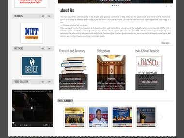 ICEC Wordpress Website