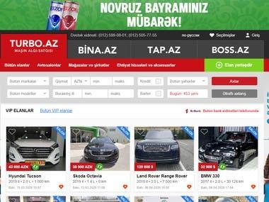 turbo.az(Car Dealer)