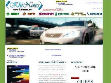 khinotes website