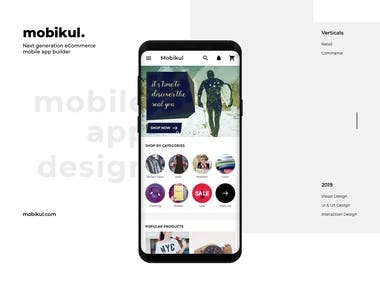 Ecommerce App for iPhone & Android
