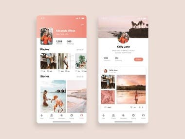 Social App for iPhone & Android