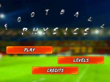 Football Physics iPhone Game