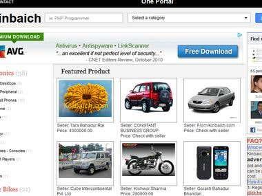Classified Web portal : kinbaich.com